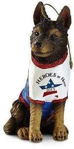 Heroes at Home Dog Ornament - $1 Goes to Rebuilding Together