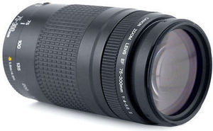 EF75-300mm Lens w/ Canon T3/T3i DSLR Purchase