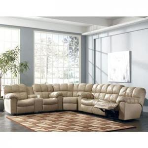 Home Solutions Fall Creek Collection 3-Pc. Leather Sectional