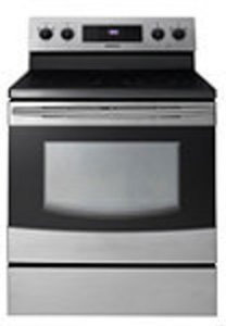 Samsung Stainless Steel Smooth-Top Electric Range
