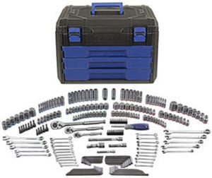 Kobalt 227-pc. Standard/Metric Mechanic's Tool Set