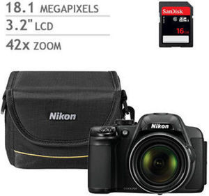 Nikon Coolpix P520 Digital Camera Bundle