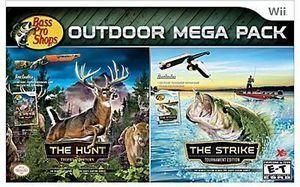 Bass Pro Shops Outdoor Mega Pack (Wii)