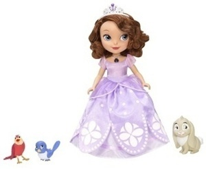 Disney's Sofia the First Talking Sofia and Animal Friends