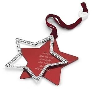 Timeless Elegance Swing Star Ornament