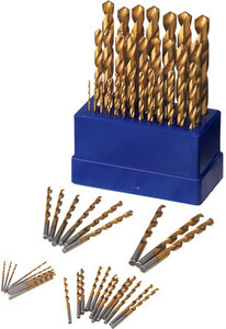 Advantek 62 pc Titanium Drill Bits