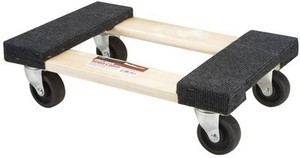 HaulMaster 1000lb Mini Mover's Dolly