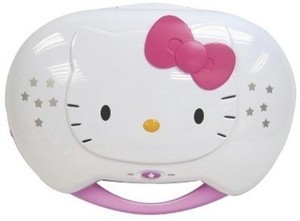 Hello Kitty CD Karaoke System/CD Player