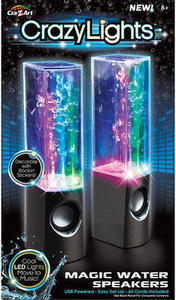 Cra-Z-Art My Look Crazy Lights Magic Water Speakers