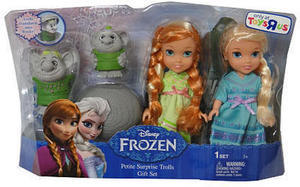 Frozen Petite Toddler Princess & Surprise Trolls