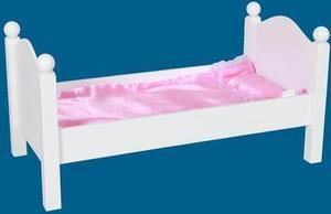 "Kenya Dolls 18"" Doll Bed"
