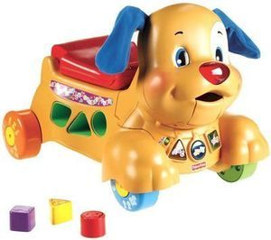 Laugh and Learn Stride to Ride Puppy w/ Coupon #5