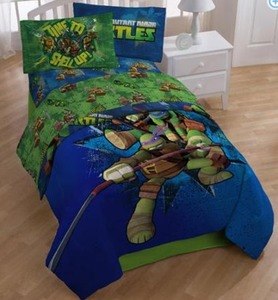 Teenage Mutant Ninja Turtles Twin Sheet Set