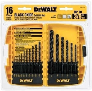 Dewalt 16 Piece Drill Bit Set in Tough Case