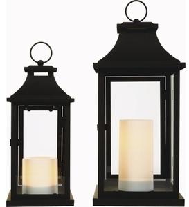 Flameless Candle Lantern Set of 2