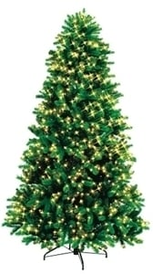7 Ft Pre-Lit Clear Grand Pine Tree