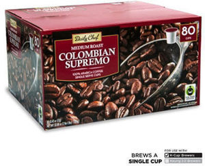 Daily Chef Colombian Supremo K-Cups