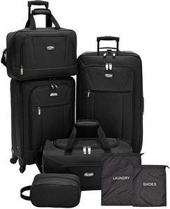 Elite by Traveler's Choice 5PC Luggage Set