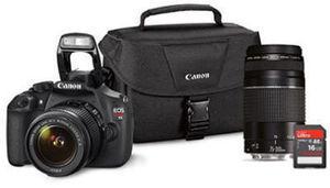 Canon T5 18MP Digital SLR Bundle