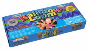 The Original Rainbow Loom Rubber Band Bracelet Making Kit + Free Case