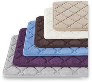 Memory Foam Diamond Bath Mat