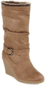 a.n.a. Cozy Women's Wedge Boots