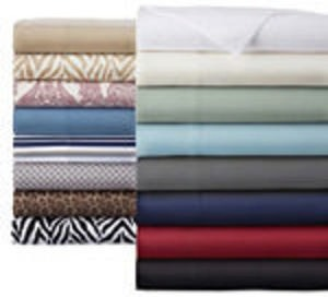Home Expressions Microfiber Twin Sheet Set