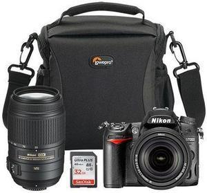 Nikon D7000 DSLR Camera + 55-300mm Lens Bundle