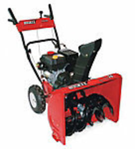 "24"" Huskee Two-Stage Snow Thrower"