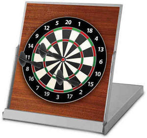 Smart Works Magnetic Desktop Dart Board