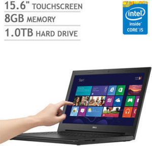 "Dell Inspiron 15 3000 Series 15.6"" Touchscreen Laptop"