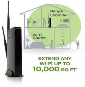 Amped Wireless High Power WiFi Range Extender