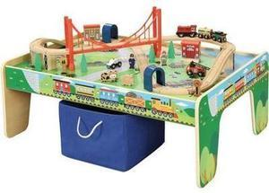 Wooden Train Table - Thursday