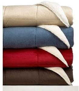 JLA Home Reversible Sherpa Comforters