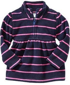 Toddler Girls' Half-Zip Pullovers
