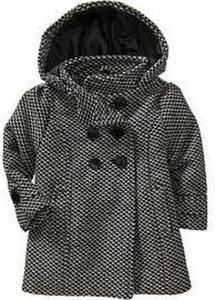 Girls' Wool-Blend Peacoats