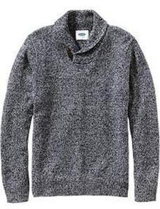 Men's Shawl-Collar Sweaters