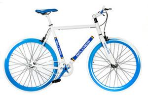 Belcheri Street SLR Blue Fixed Gear Bicycle