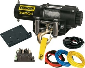 Champion 3,000-lb. Winch Kit