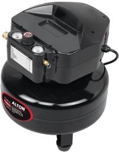 Alton 6-Gallon Pancake Oil-Free Air Compressor