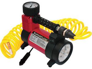 Super Flow 12 volt Air Compressor with LED