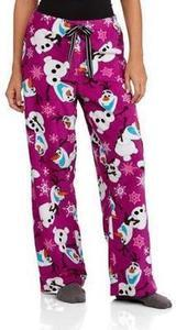Women's Frozen Plush Sleep Pants
