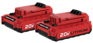 2-Pack 20-Colt Max Lithium Ion Power Tool Batteries
