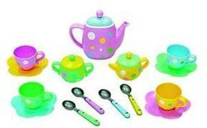 Just Kidz 18-PC Princess Tea Set