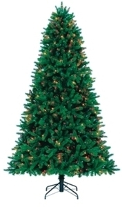 Perfect Shape 7.5ft Multicolor Grand Fir Christmas Tree