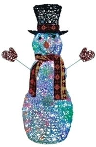 Celebrations 45in LED Snowman