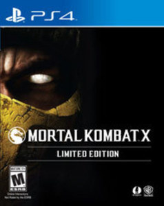 Mortal Kombat X GameStop Exclusive Limited Edition