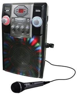 GPX Party Karaoke System with Microphone