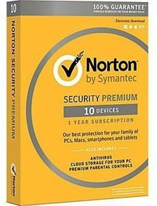 Norton Security Premium (10 Devices) with PC Purchase & Reward Members