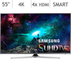 "Samsung 55"" 4K Ultra HD Smart LED LCD TV"